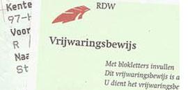 Vrijwaringsbewijs